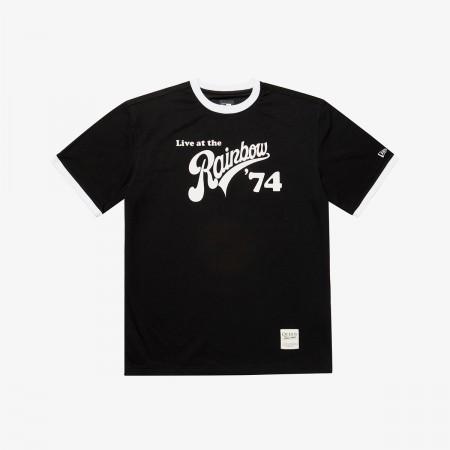 퀸 레인보우 74 반팔 티셔츠 블랙(QUEEN RAINBOW T-SHIRTS BLACK)